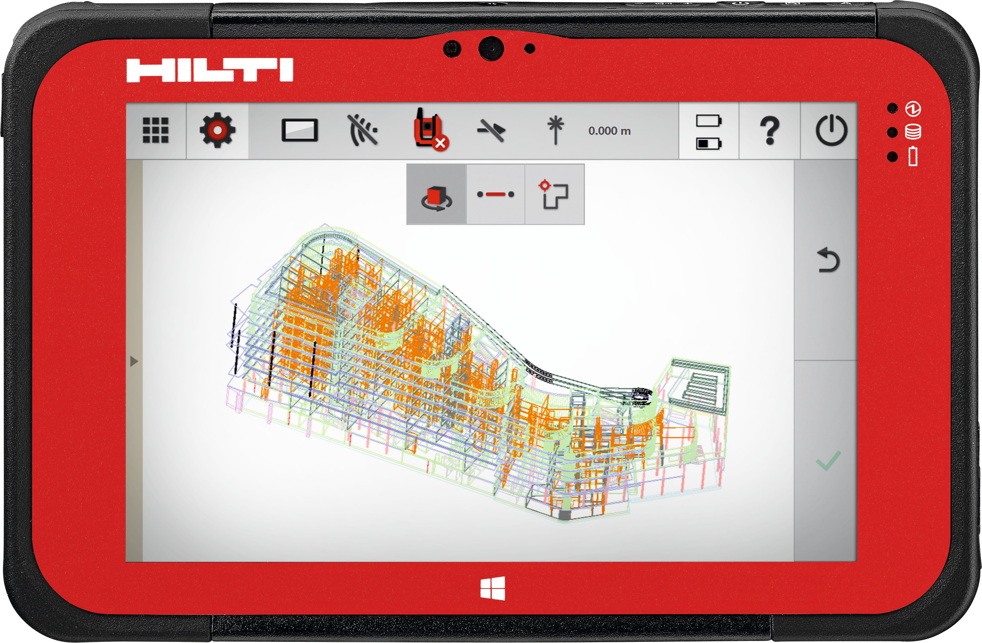 Hilti construction layout software